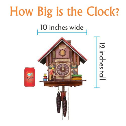 How Big is the Cuckoo Clock
