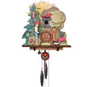 Bird Lovers Cuckoo Clock
